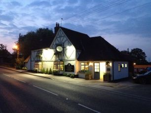 The Navigation Inn during the night