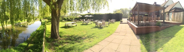 The near beer garden